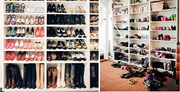 10 Inpirasi Unik Cara Menyimpan Koleksi Sepatu