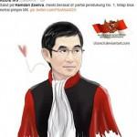 karikatur Hamdan Zoelva