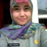 foto narsis Nurul Habibah Satpol PP Cantik dari Banten