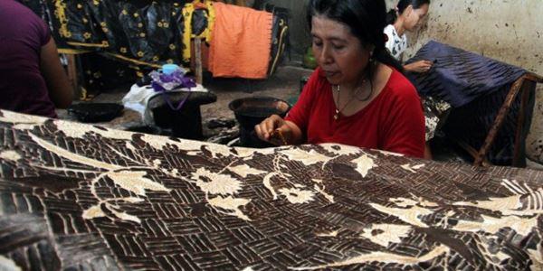 Kerajinan batik trusmi