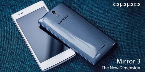 Oppo Mirror 3, Smartphone dengan Spesifikasi Premium