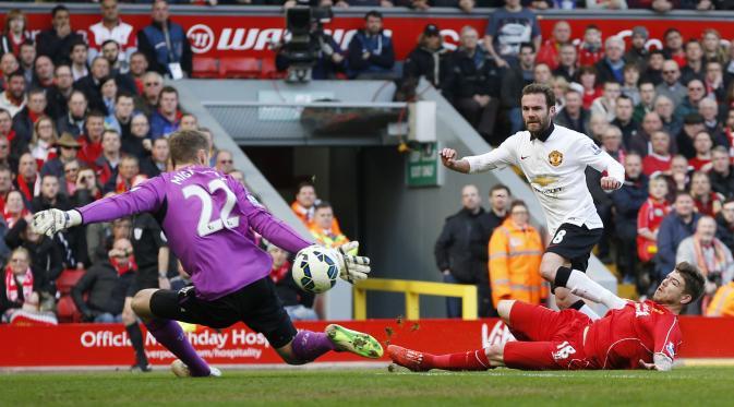 Hasil Liga Inggris Manchester United Sukses Bungkam Liverpool