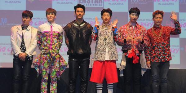 Ternyata banyak Cowok yang Datang ke Konser 2PM di Jakarta Malam ini