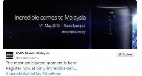 Asus Zenfone 2 Bakal Resmi Dirilis Mulai 9 Mei di Malaysia 2