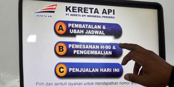 Bisa Pesan Online, Tapi Situs Tiket Kereta Api Online Susah Diakses