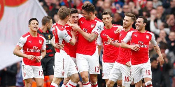 Hasil Liga Inggris Arsenal Sukses Hancurkan Liverpool