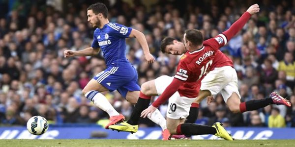 Hasil Liga Inggris Hazard Sukses Menangkan Chelsea Vs MU