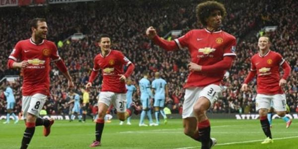 MU Vs City Aguero Cetak 2 Gol, MU tetap Menang Derby Manchester