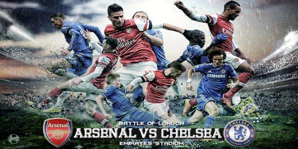 Prediksi Arsenal vs Chelsea Terus Kejar atau Ucapkan Juara Ke Chelsea