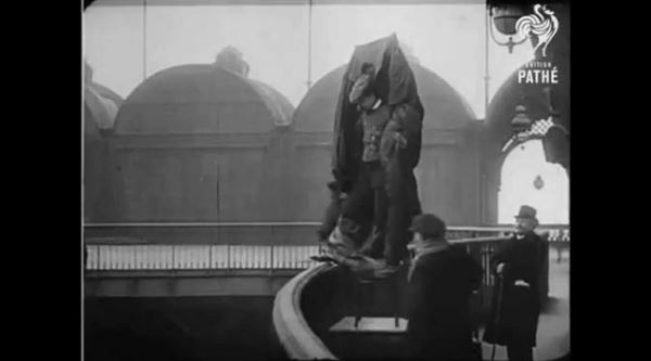 Franz Reichelt dengan Parasut ciptaanya