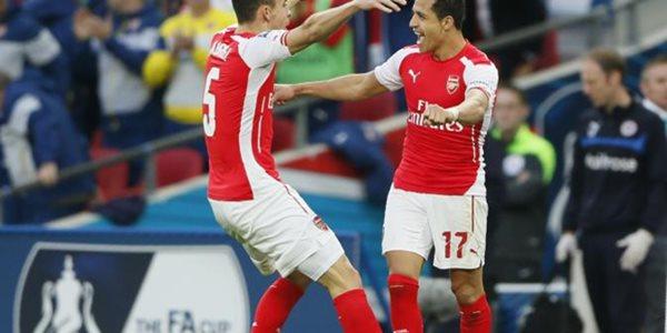 Semifinal FA Cup Kalahkan Reading, Arsenal Berhasil Melaju ke Final