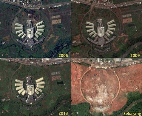 Sempat Jadi Kebanggan Bangsa Indonesia, Gedung Garuda Kini Telah Tiada 2