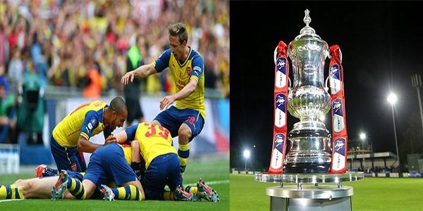 Arsenal Pertahankan Piala FA CUP
