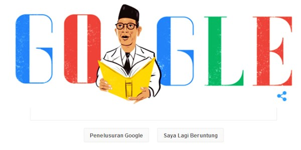 Peringati Hari Pendidikan Google Doodle Ulas Kisah Ki Hadjar Dewantara