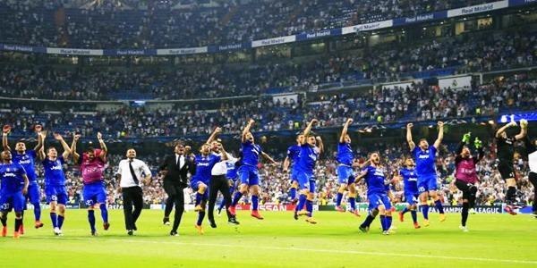 Madrid gagal menuju final setelah di kalahkan Juventus