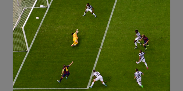 Gol Liga Champions 2015 Barca