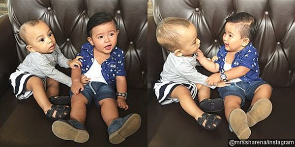 Lucunya Video Obrolan Anak Shireen Sungkar dan Putra Shareena
