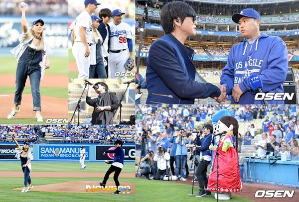 Meski Lemparannya Meleset, CL Tetap Jadi Bintang di Kandang LA Dodgers 2