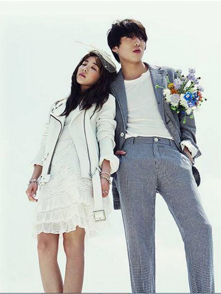 Dara 2NE1 dan Seung Yoon WINNER Foto Pre-wedding 2