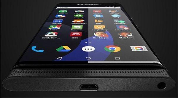 Seperti Samsung S6, Blackberry Android Bakal Usung Layar Melengkung