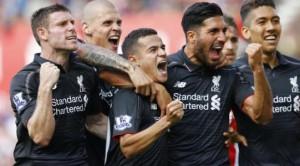 Coutinho Pahlawan Liverpool contra Stoke City