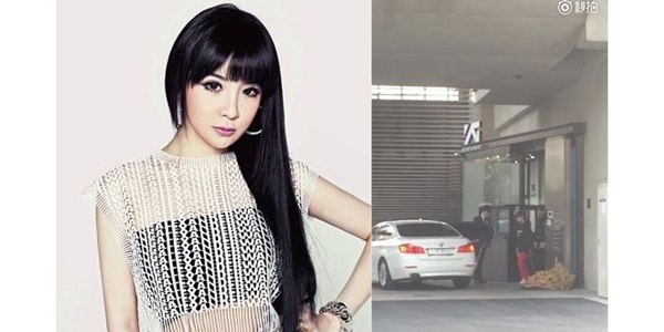 Park Bom Kepergok Keluar dari Gedung YG, 2NE1 Segera Comeback