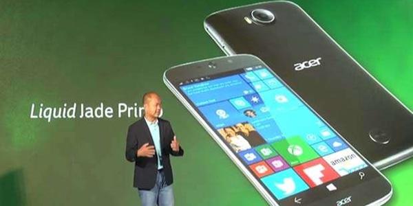 Saingi Lumia 950 XL, Acer Luncurkan Smartphone Acer Liquid Jade Primo