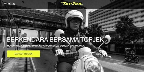 TopJek, Ojek Online di Ibukota yang Siap Bersaing dengan Go-Jek