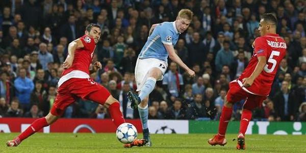 hasil Liga Champions Manchester City Sukses Bungkam Sevilla