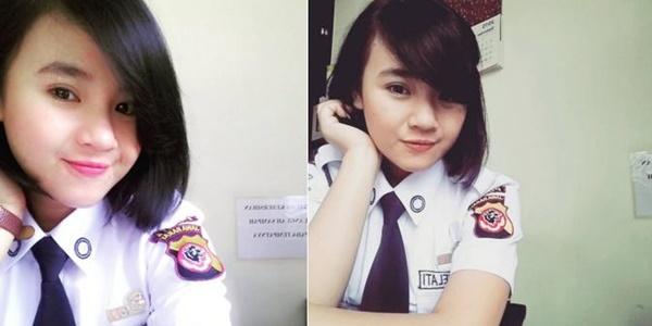 Rima Efriani Melati, Satpam BRI yang Sukses Bikin Netter Klepek-klepek 2