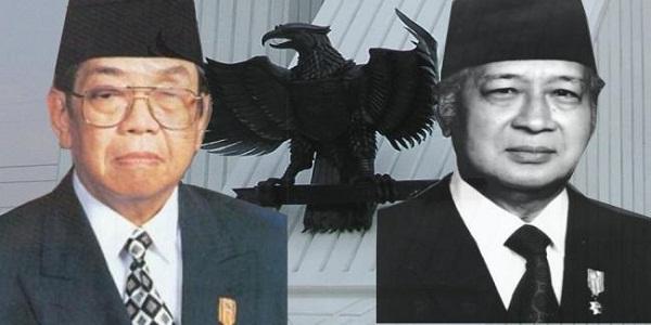 pahlwan-gus-dur-soeharto