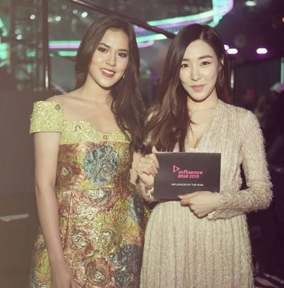 Foto Bersama di Influence Asia, Pilih Mana Raisa atau Tiffany SNSD