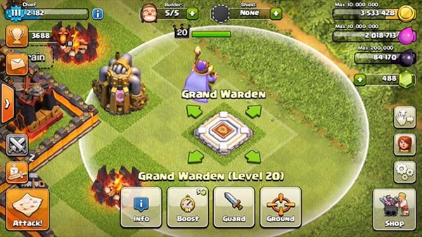 Resmi Update, Ini Dia Grand Warden Hero Baru Clash of Clans (CoC) 2