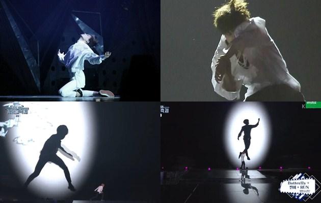Tarian 'Butterfly' Jimin BTS di KBS Gayo Jiplak Tarian Milik Kai EXO