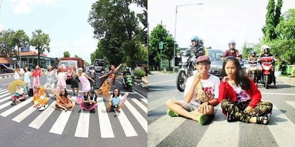 Trend Foto Telanjang Dada di Tengah Jalan, Kocak atau Menjijikkan 2
