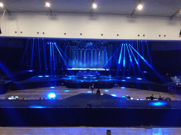 Inilah Panggung untuk Konser EXO PLANET #2 The EXO'luXion Malam Nanti! 2