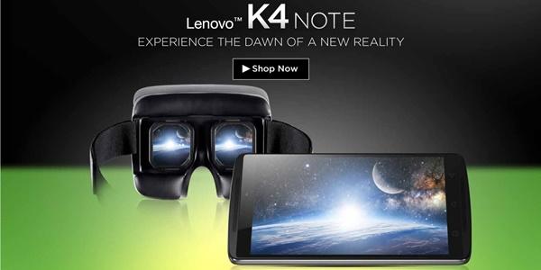 Andalkan VR, Inilah Harga dan Spesifikasi Lenovo VIBE K4 Note