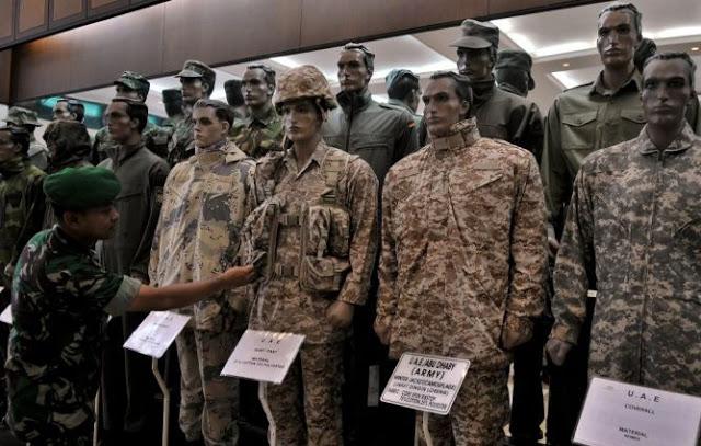 Galeri Seragam Militer PT Sritex