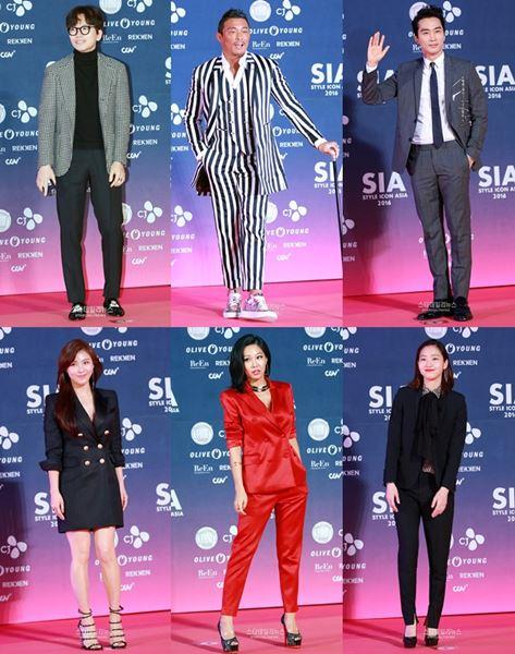 Hadiri Style Icon Awards 2016, Song Joong Ki dan SNSD Tampil Memukau