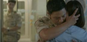 'Descendants of the Sun' Raih Rating Tertinggi Berkat Jin Goo Peluk Kim Ji Won
