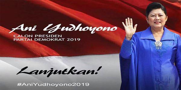Poster Pencalonan Presiden Ani Yudhoyono Beredar, Netizen Heboh