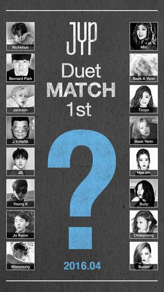 Tiru Konsep SM Station, JYP Kenalkan Proyek 'JYP Duet Match'