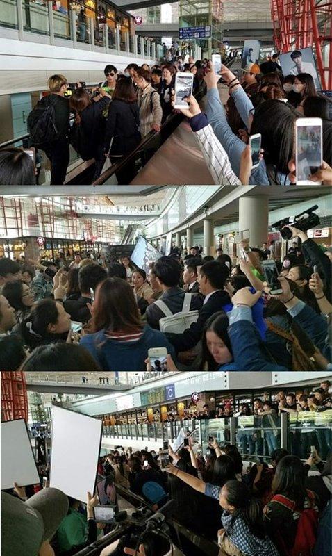 Bintang Descendants of The Sun Jin Goo Bikin Heboh Bandara Beijing