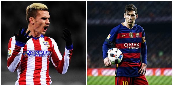 Diprediksi Sengit, Inilah Live Streaming Atletico Madrid vs Barcelona