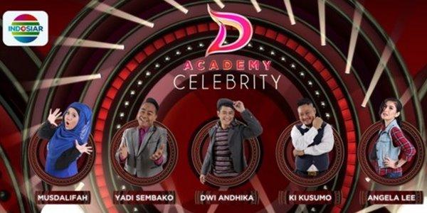 Gantikan DA 3, Ini 5 Peserta D'Academy Celebrity yang Tampil Malam Ini