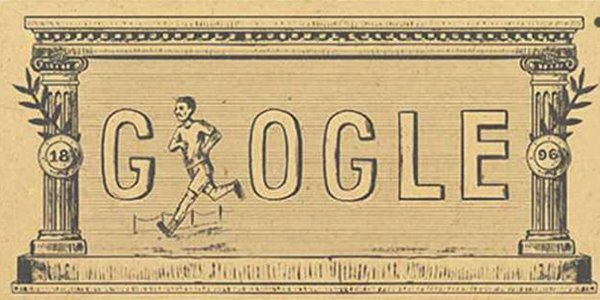 Google Kobarkan Spirit Olimpiade Lewat Doodle Olimpiade Modern Pertama 2