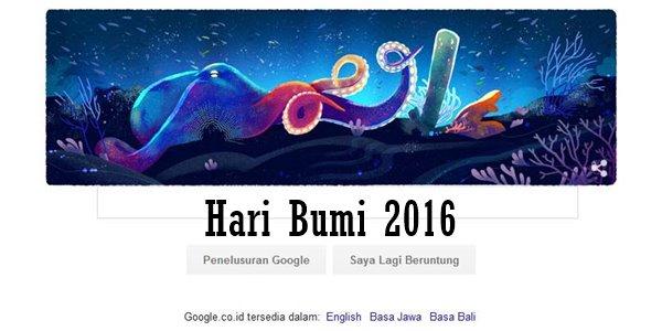 Merayakan Hari Bumi 2016 Bersama Google Lewat Animasi Doodle