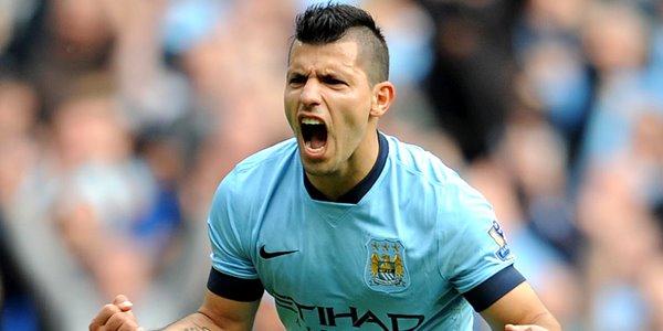 Meski Newcastle vs Manchester City Imbang, Aguero Berhasil Cetak Rekor