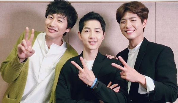 Gelar Jumpa Fans, Song Joong Ki Dikunjungi Lee Kwang Soo dan Park Bo Gum