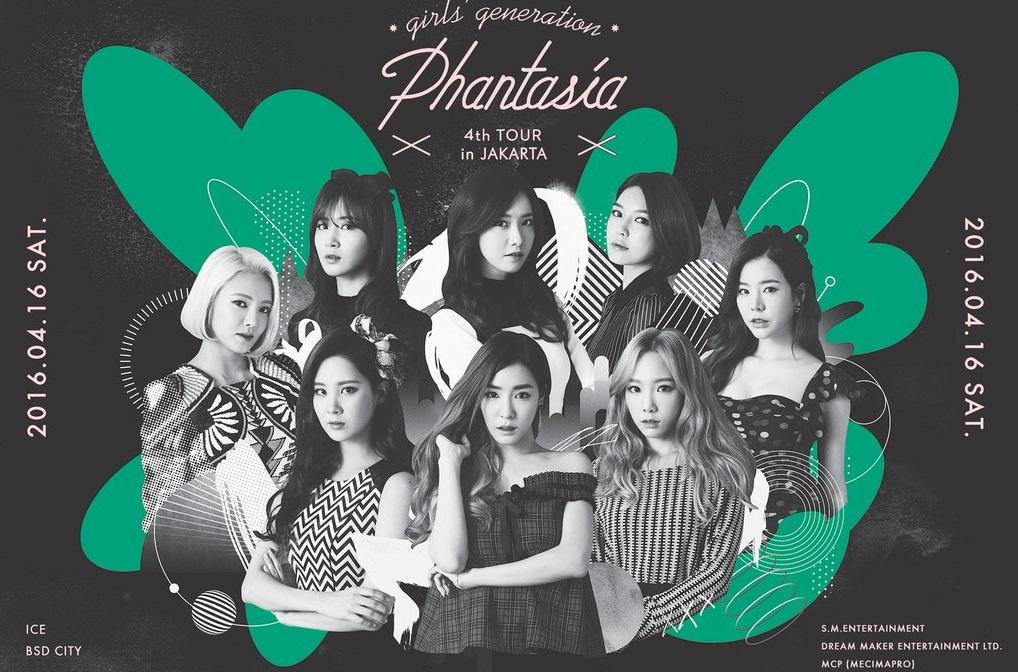 GIRLS' GENERATION 4th TOUR-Phantasia in Jakarta